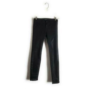 J BRAND Super Skinny Legging Stretch Coat Steal